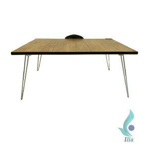 میز کار نشسته تاشو زنبور داری