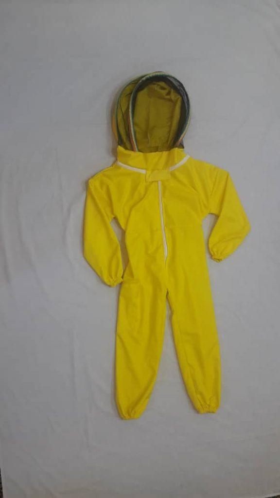 لباس زنبورداری سرهمی کودک