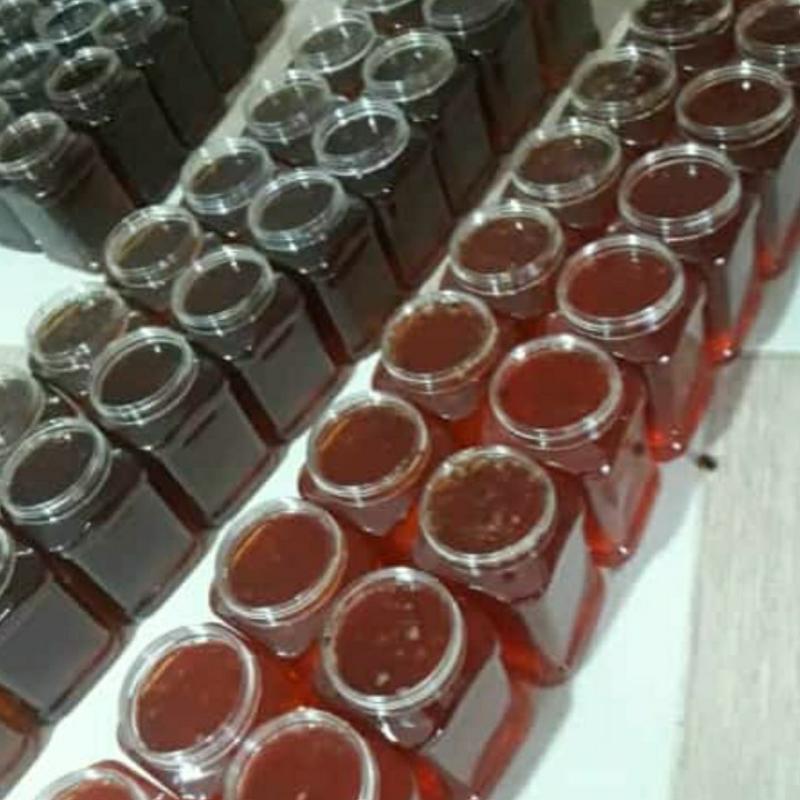 عسل کنار اصل بدون شکر