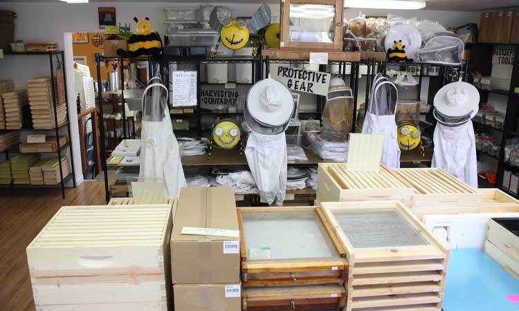 بازاریابی ابزار و لوازم زنبورداری