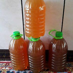 ۴۰۰ کیلو عسل خالص و طبیعی گشنیز